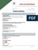 MSDS ACIDO NITRICO