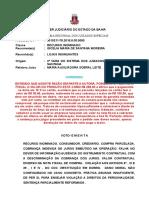 Ri -0010211-78.2016.8.05.0080 Consumidor Cobrança Indevida Juros Falha Informação Sem Danos Morais Prov