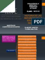 Act 3 Unit 2 Hist de Ls Reformas en l Educacion en Mexico