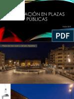 Iluminación en Plazas Públicas