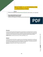 6-1 Morales - De La Consultoría a La Intervención