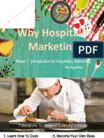 Introduction to Hospitality Marketing