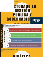 Sesion 1 - Politicas Publicas
