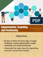 Segmentasi, Targeting & Positioning