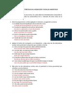 Taller de Características de La Redacción y Escollos Lingüisticos