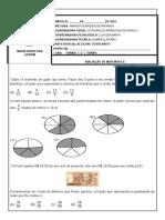 Prova 7 Ano Valor 4,0 Matemática