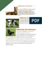 Definición de Carnívoro.docx