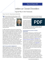 Mental Disorders as Circuit Disorders - Pointing the Way to New Treatments