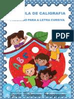 Apostila Letra cursiva Materiais Pedagógicos