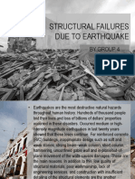 structural failures due to earthquake