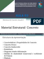 Aula 003 - Material Estrutural - Concreto-mod