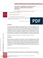 Enseñanza e Investigación en Psicología v. 20 n. 3 ---- (LOS LÍMITES de LA CARRERA de PSICOLOGÍA (...))