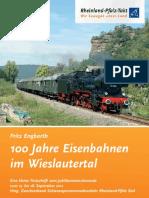 100 Jahre Wieslauterbahn