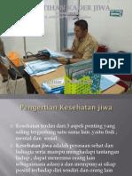 Materi Pelatihan Kader Jiwa Pkm Lumbung