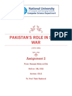 Soviet Afghan War and Pak's Role in IT