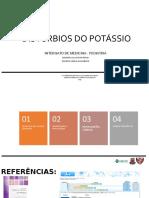 Pediatrics Potassium Disorders