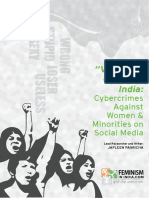 Cyber Crimes Against Women Report