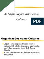 Apresentação Organizações  Como Culturas