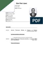 CV Ing. Díaz
