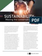 EIU Sustainability Regulation Article 1