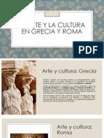 El Arte y La Cultura en Grecia
