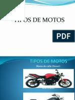 Tipo de Motos y Herramientas