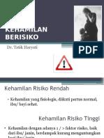 03. Kehamilan Berisiko Dr. Tatik Haryati