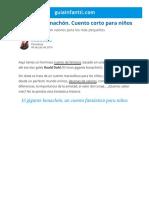 El gigante bonachón. Cuento corto para niños.pdf