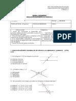 Evaluación 6º Básico Transversal y Triangulos