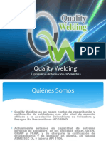 Presentación Quality Welding