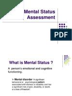 3- Mental Status Assessment