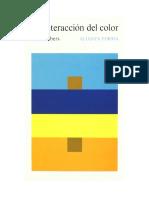 Albers · La Interacción del color