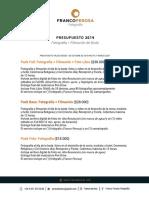 Packs Bodas 2019-2020 Ta