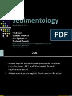 Sedimentologi 5 Karbonat (1)