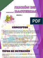 Nutrición de Las Bacterias
