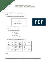 Turunan trigonometri