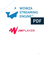 Wowza Streaming Engine VOD Edge With JWPlayer
