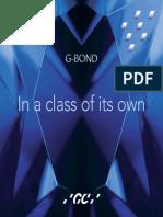 Brochure G BOND