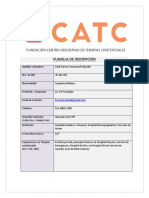 Planilla de Inscripcion Cursos Catc