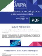 Recursos Didacticos y Tecnologicos en La Educacion Secundaria