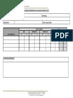 Informe de Rendimiento Evaluación Diagnóstico 2019