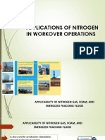 Applications of Nitrogen in Workover Operations
