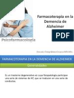 16 Farmacoterapia en La Demencia de Alzheimer