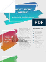 Report Creative Lit Jeweldine Short Story Writing