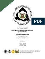 NSTP General Module 2018 edition.pdf