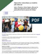 Alonso Segura Los Venezolanos