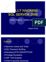 Really Hacking SQL