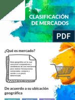 PPT Clasificación de Mercados