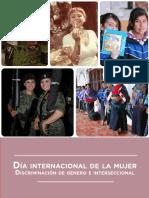 Dia Internacional de La Mujer - Discriminacion de Genero e Interseccional