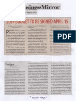 Business Mirror, Apr. 11, 2019, 2019 Budget to be signed April 15.pdf